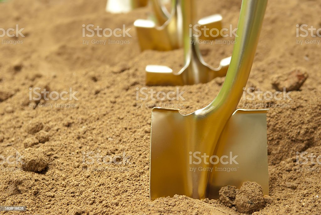 Shovel stock photo