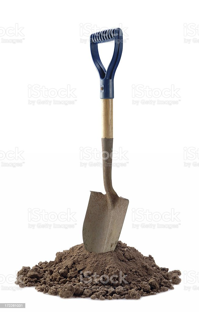Shovel Ready stock photo