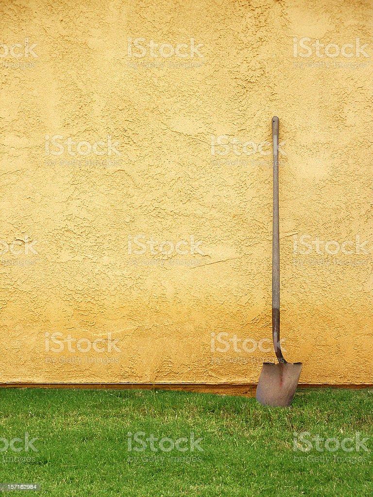 Shovel Still royalty-free stock photo