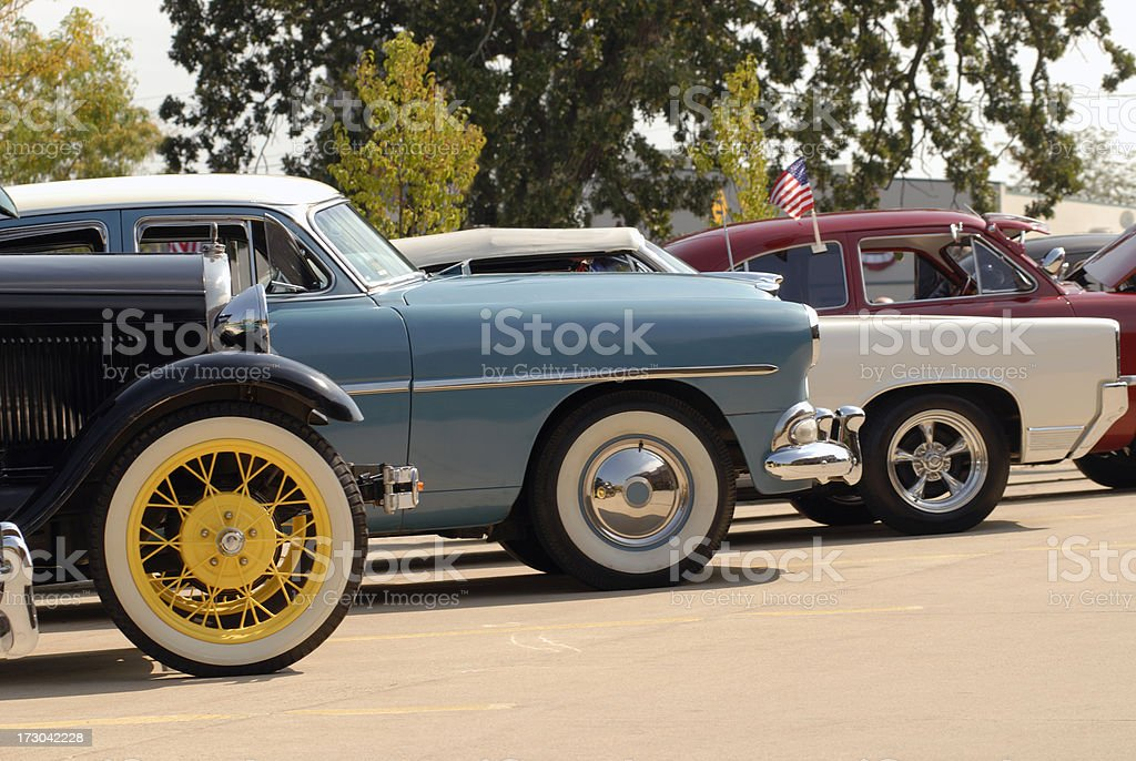 Show Cars royalty-free stock photo
