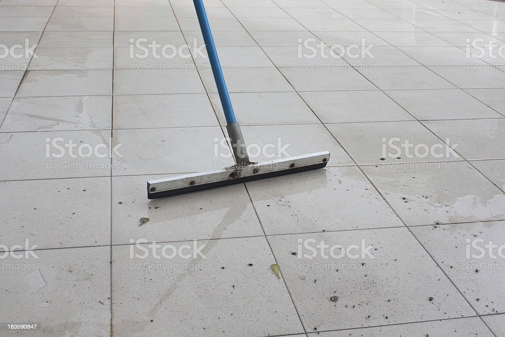 show clean dirty in the floor stock photo