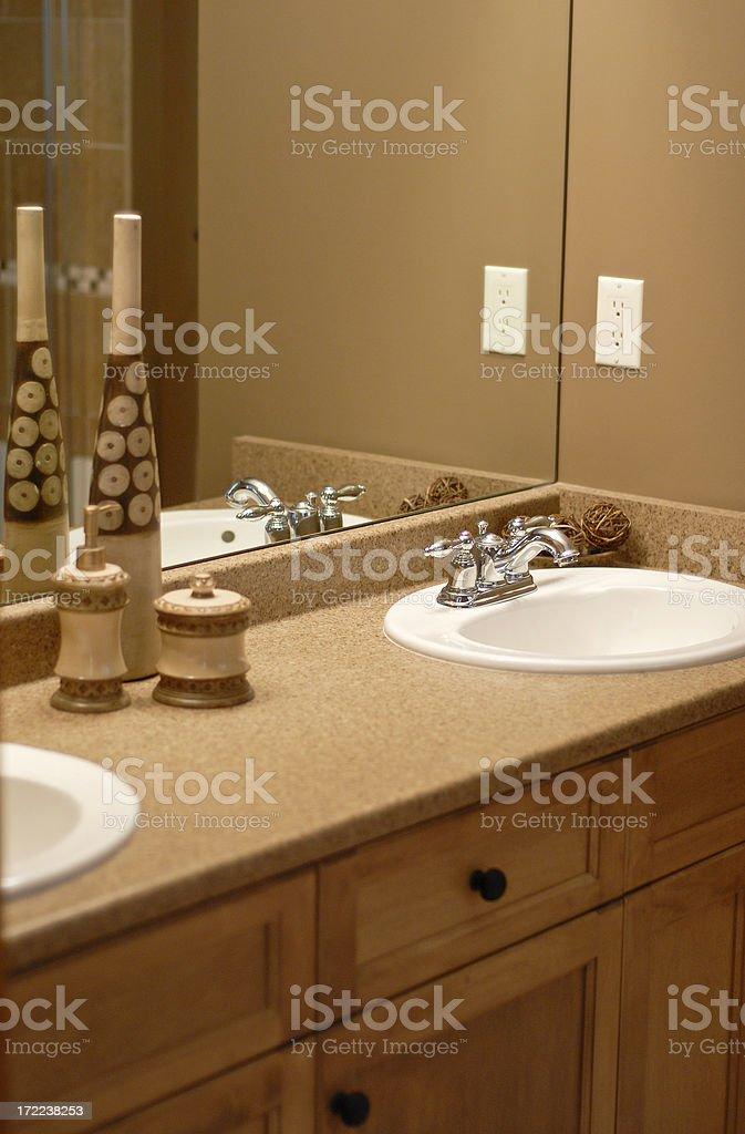 Show Home Bathroom royalty-free stock photo