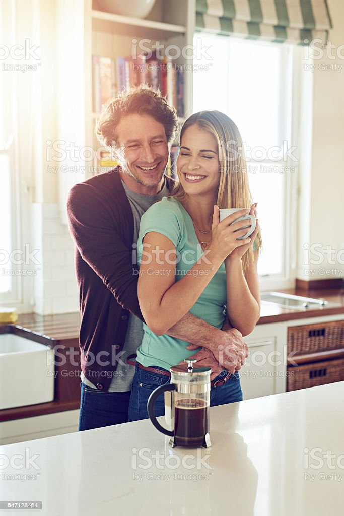 Show love and respect to your bride every day stock photo