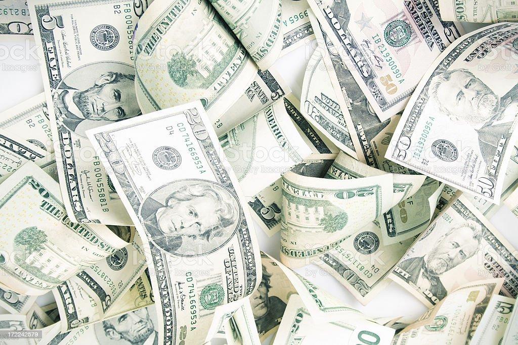 Show me the money royalty-free stock photo