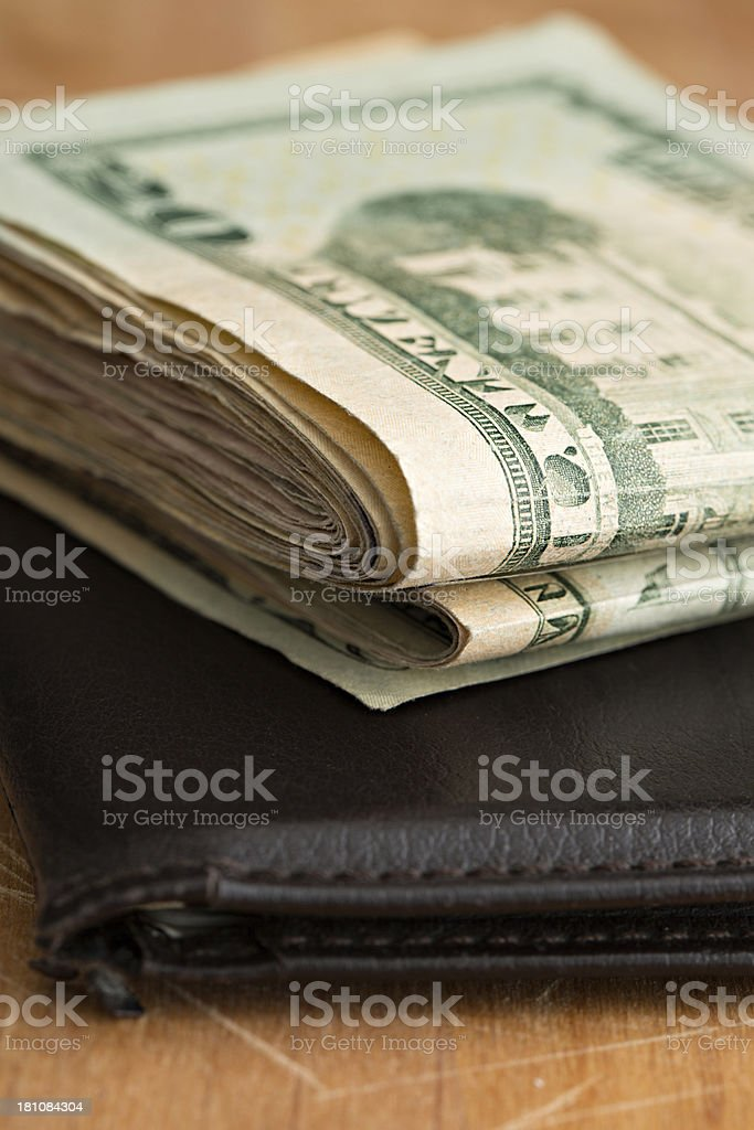 Show Me The Money stock photo