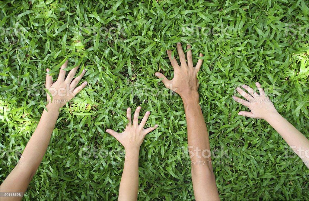 Zeig mir deine Hände! Lizenzfreies stock-foto