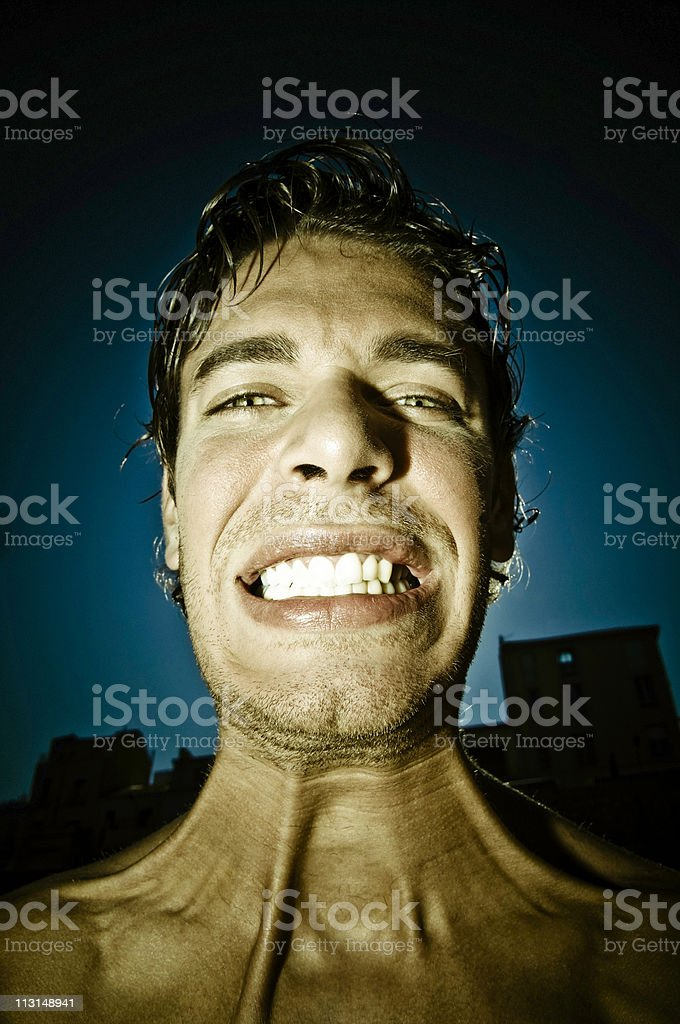 Show Me Your Teeth royalty-free stock photo