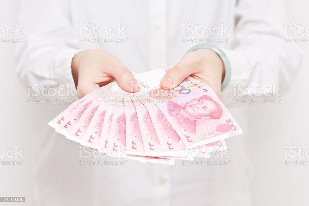 Show money stock photo