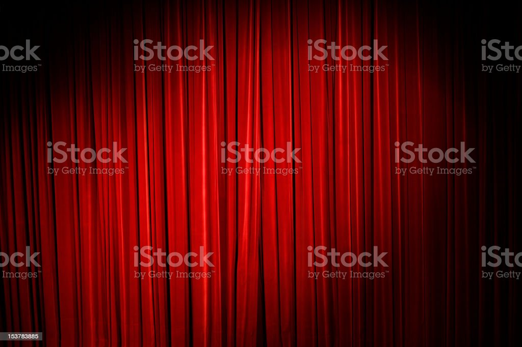 Show must go on stock photo