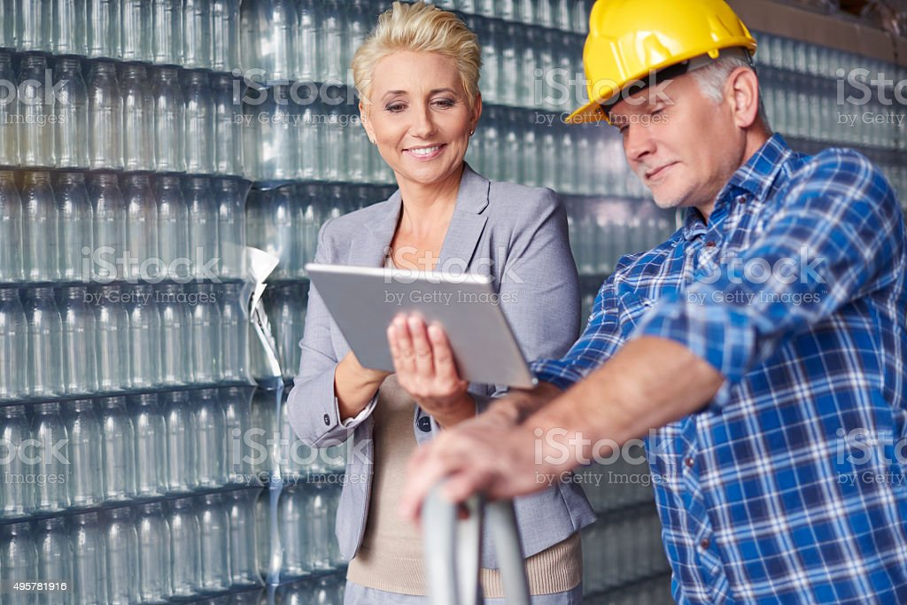 I show you new order stock photo