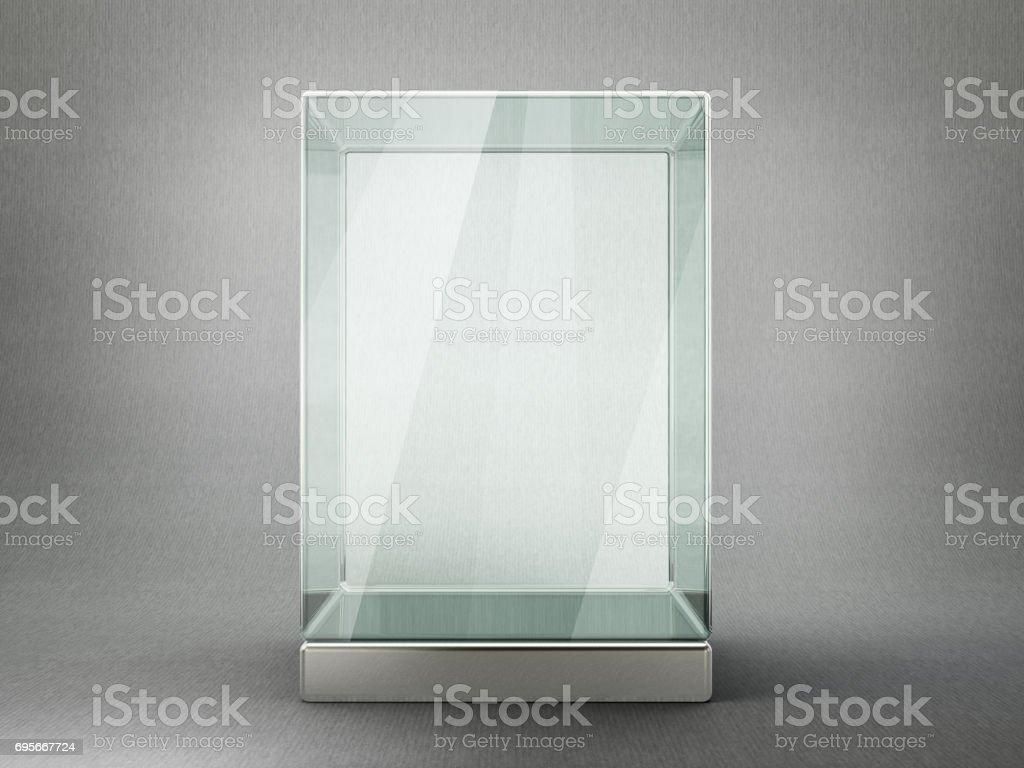 showcase stock photo