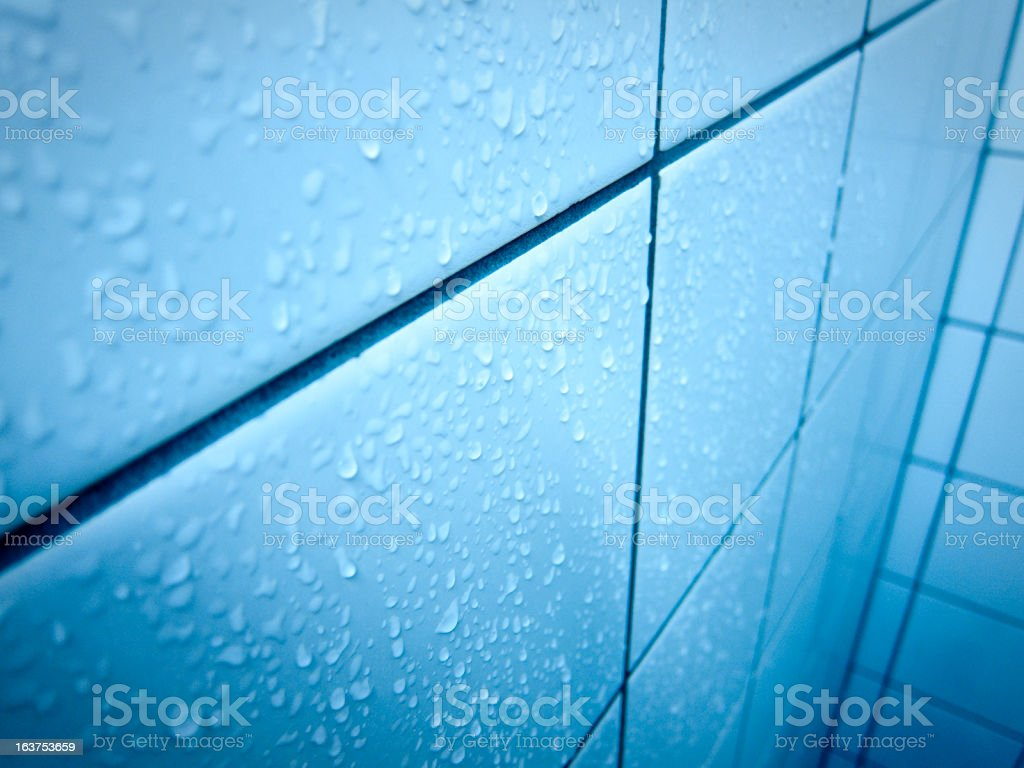 shower cabin tile royalty-free stock photo
