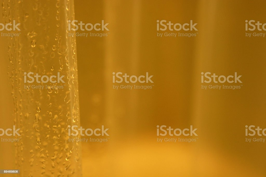 Shower curtain close-up royalty-free stock photo