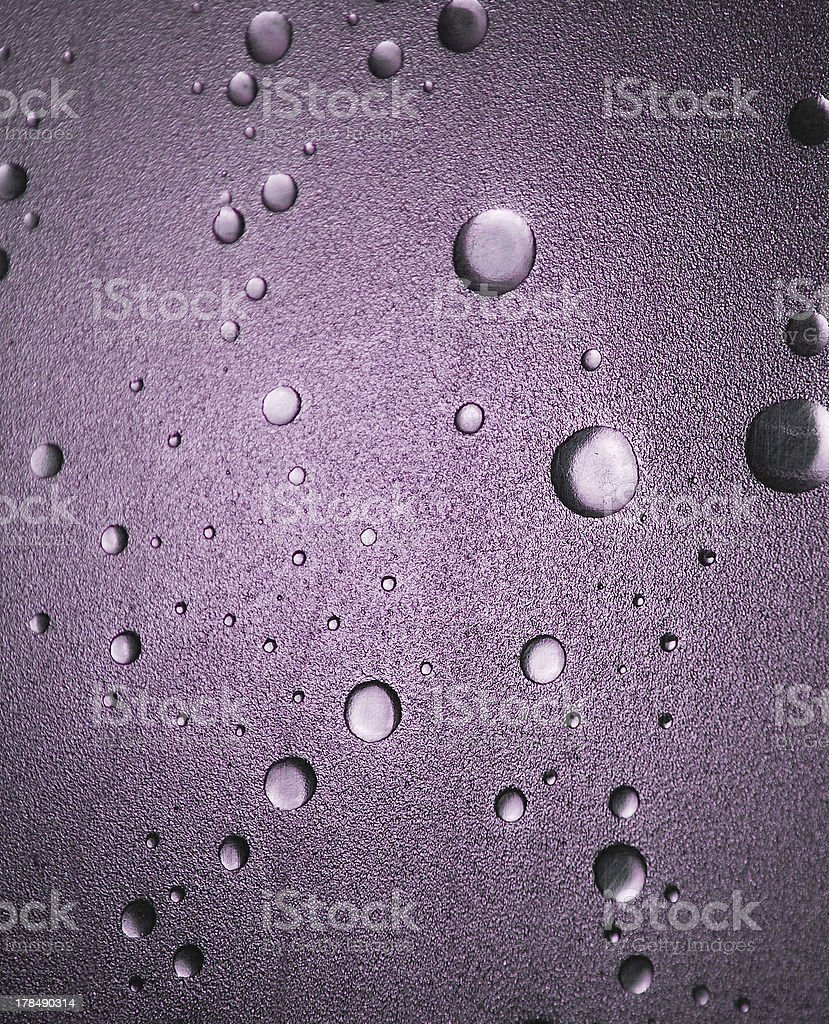 Shower Door Detail - Lilac royalty-free stock photo