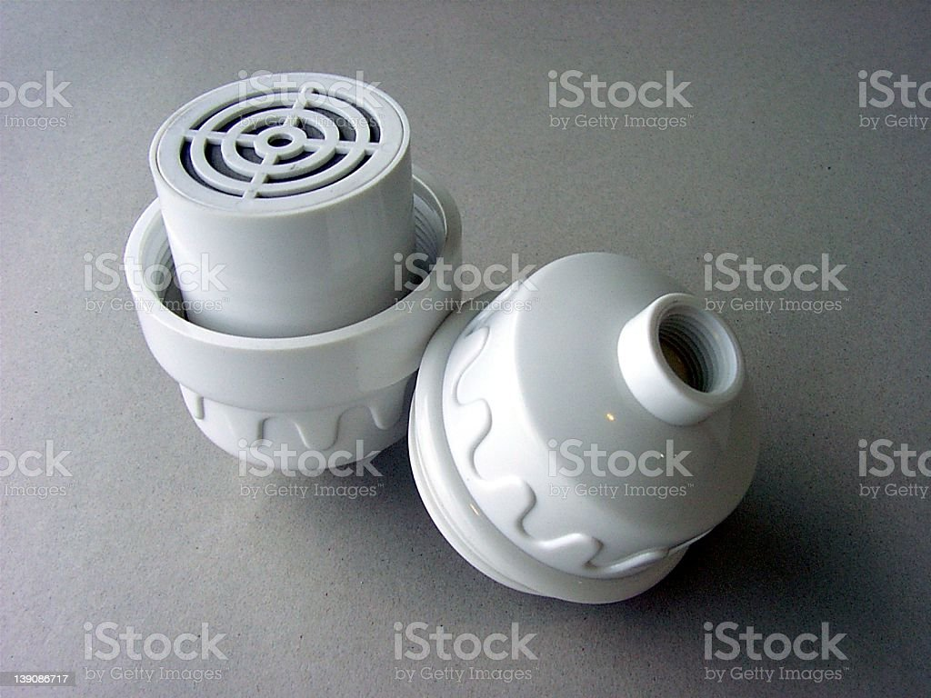 Shower Filter royalty-free stock photo