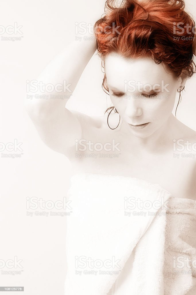Shower Fresh royalty-free stock photo