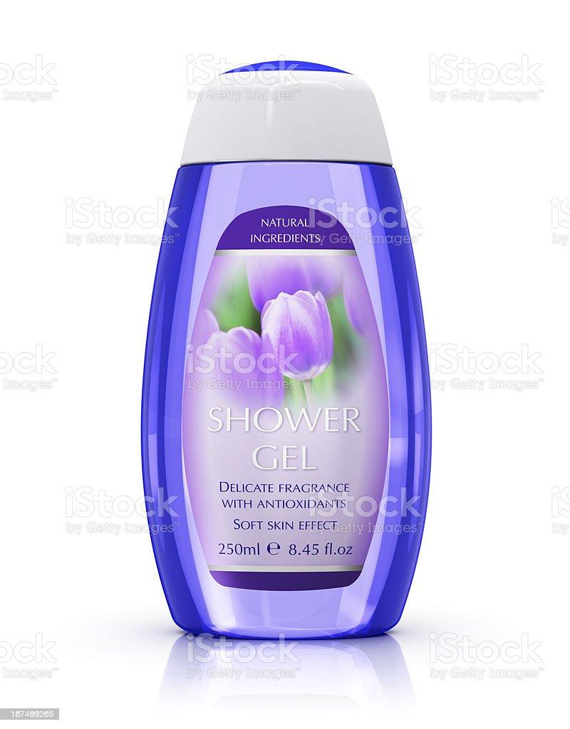 Shower gel royalty-free stock photo