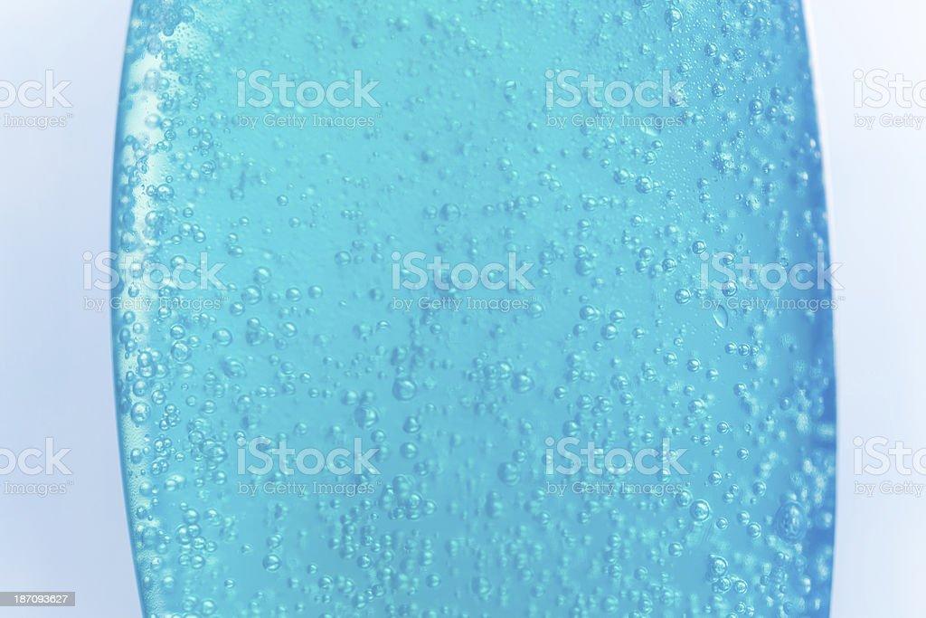 shower gel texture stock photo