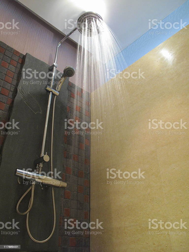 shower (series) royalty-free stock photo
