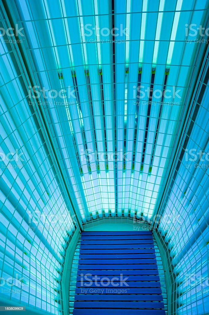 Shower Solarium Close Up stock photo