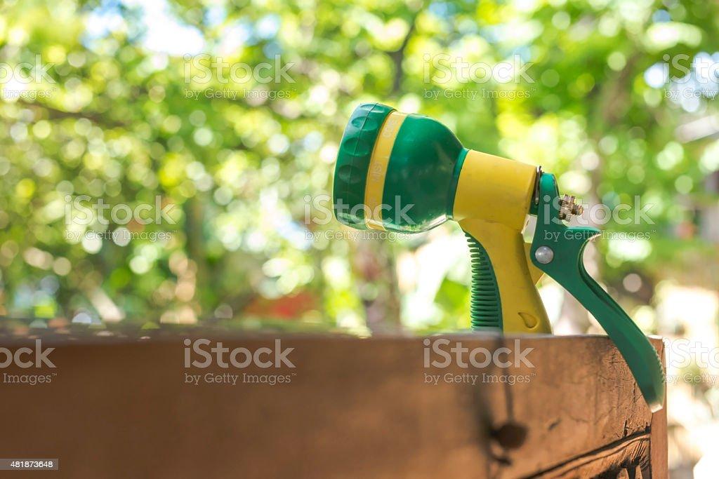 Shower sprayer head royalty-free stock photo