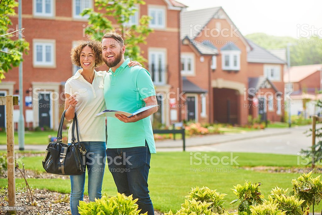 showhome viewing stock photo