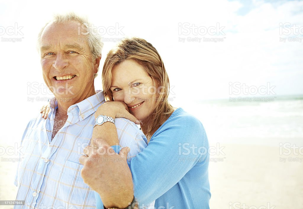 Showing a little love and affection royalty-free stock photo