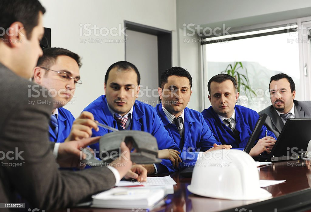 Showing a problem on new product stock photo