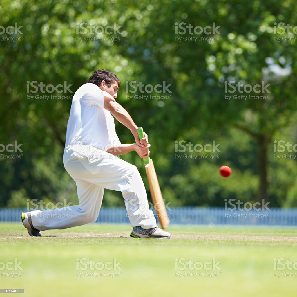 Showing his team the proper defensive shot royalty-free stock photo