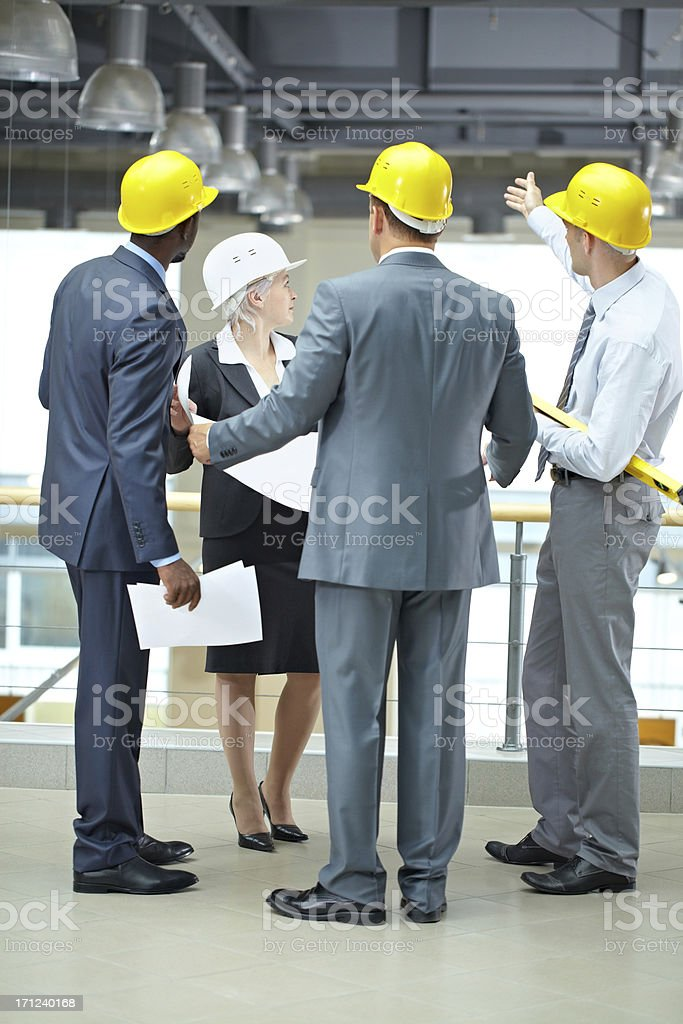 Showing housing project stock photo