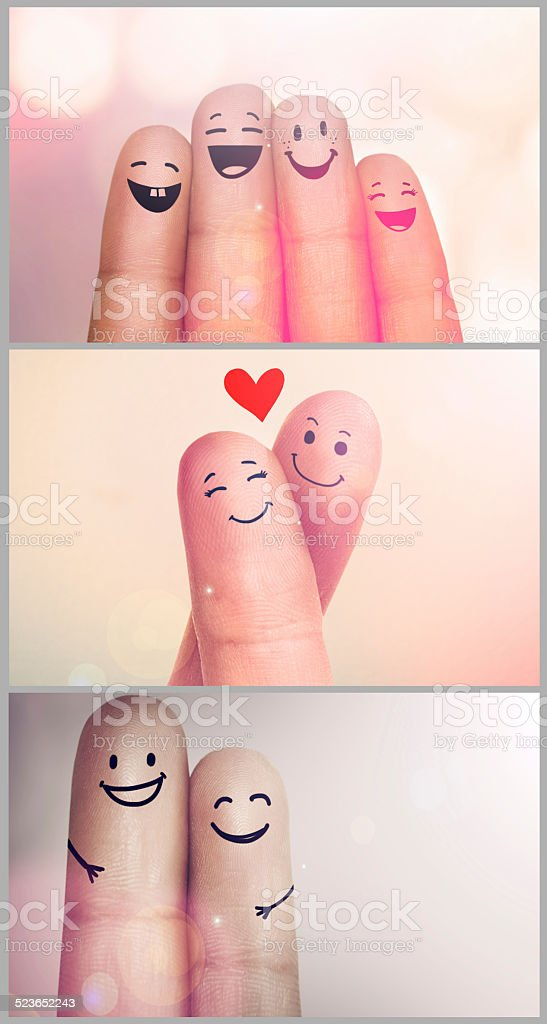 Showing some love stock photo