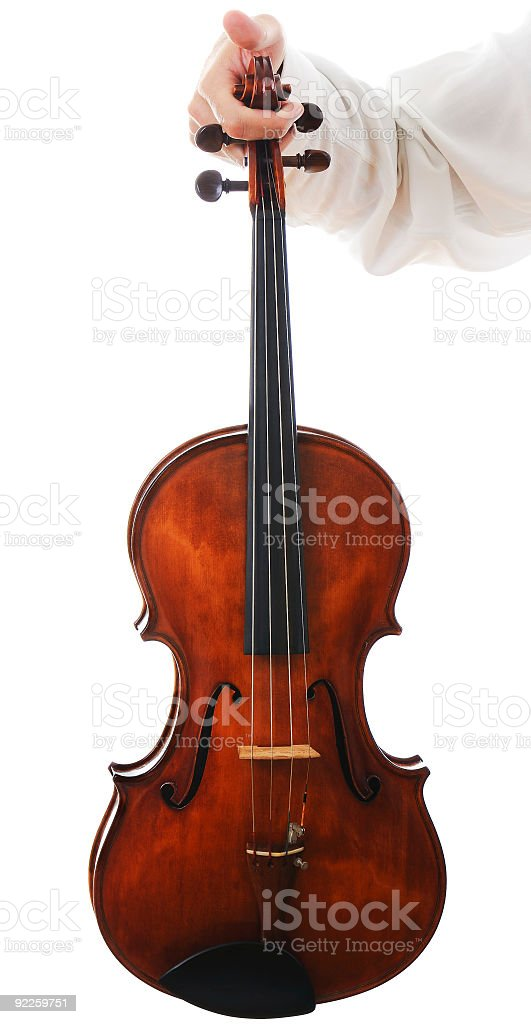Showing the viola stock photo
