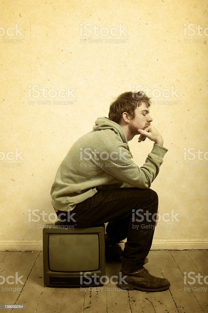 Show's Over royalty-free stock photo