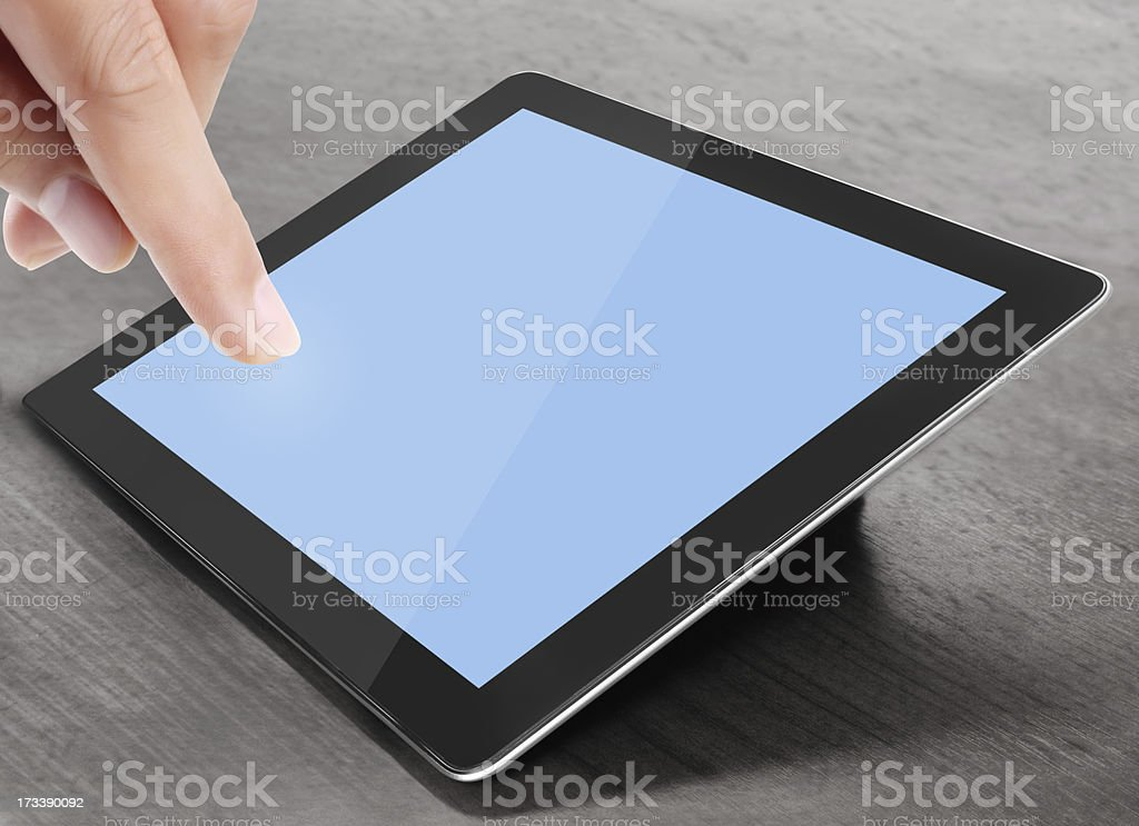shows tablet royalty-free stock photo