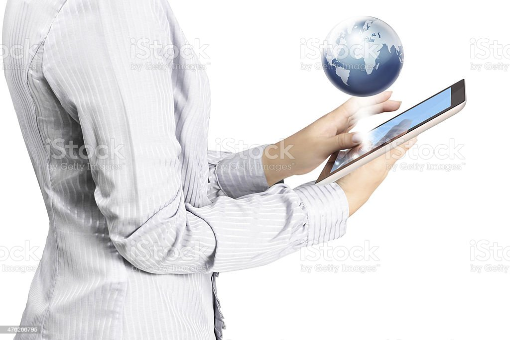 shows tablet stock photo