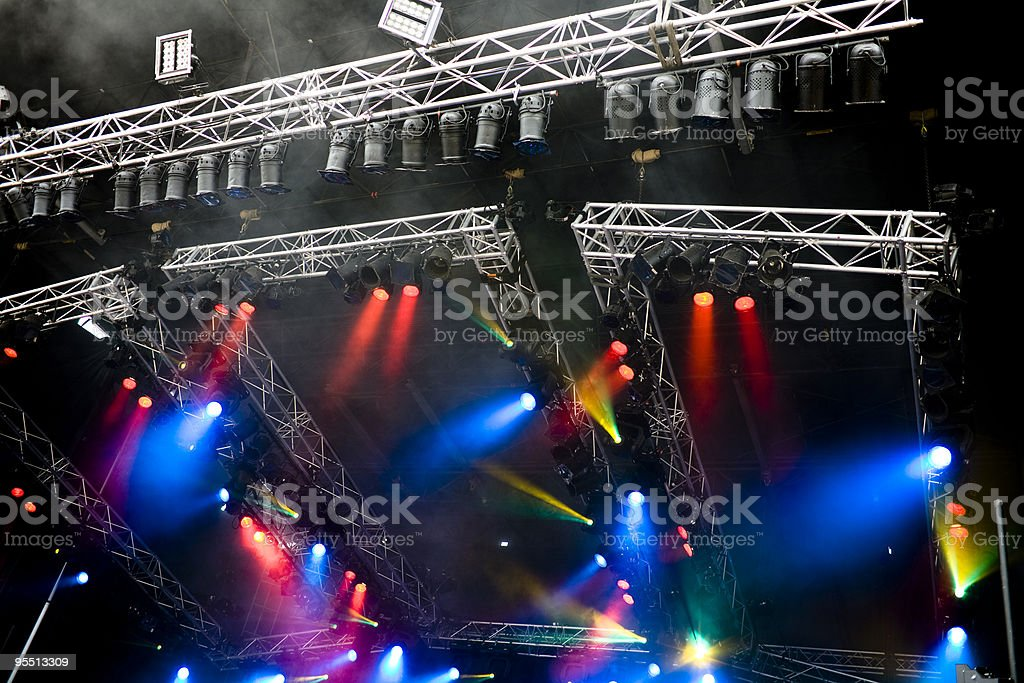 Showtime royalty-free stock photo