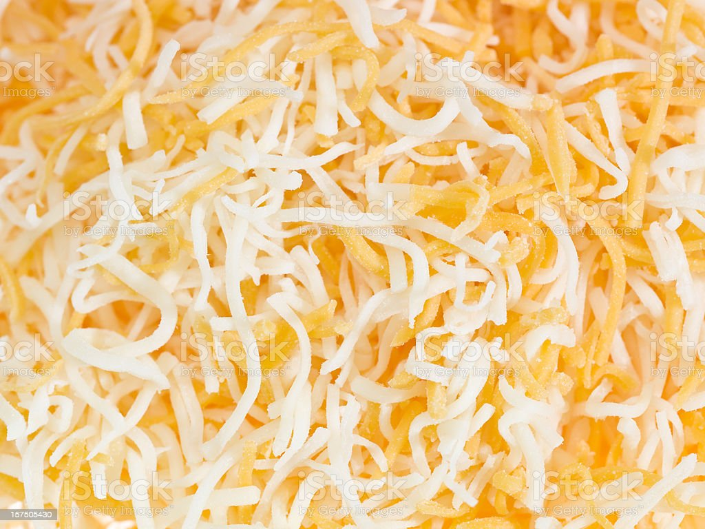 Shredded Quesadilla Cheese stock photo