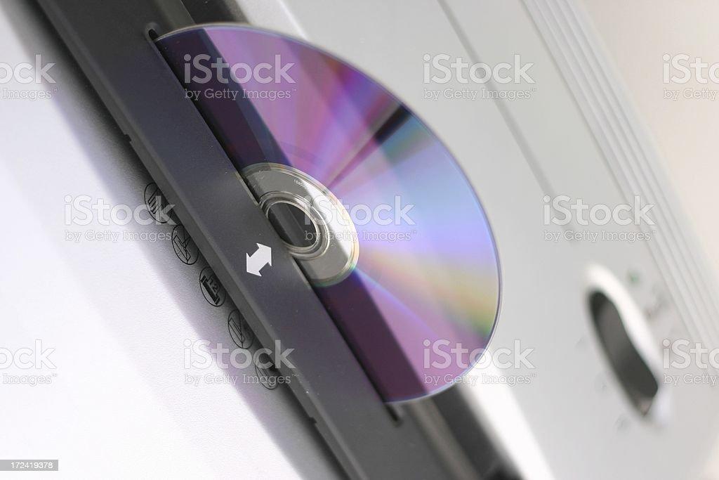 CD Shredder stock photo