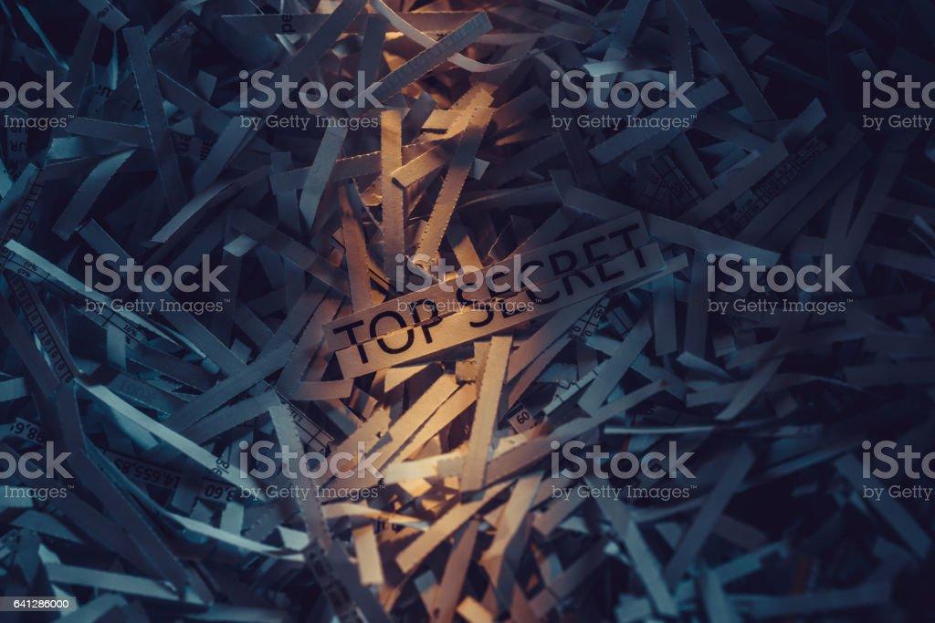 Shredder stock photo