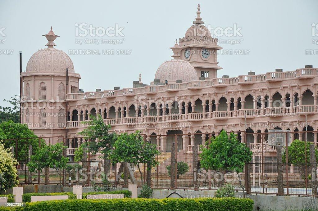 Shree Swaminarayan Gurukul in Hyderabad, Andhra Pradesh in India stock photo
