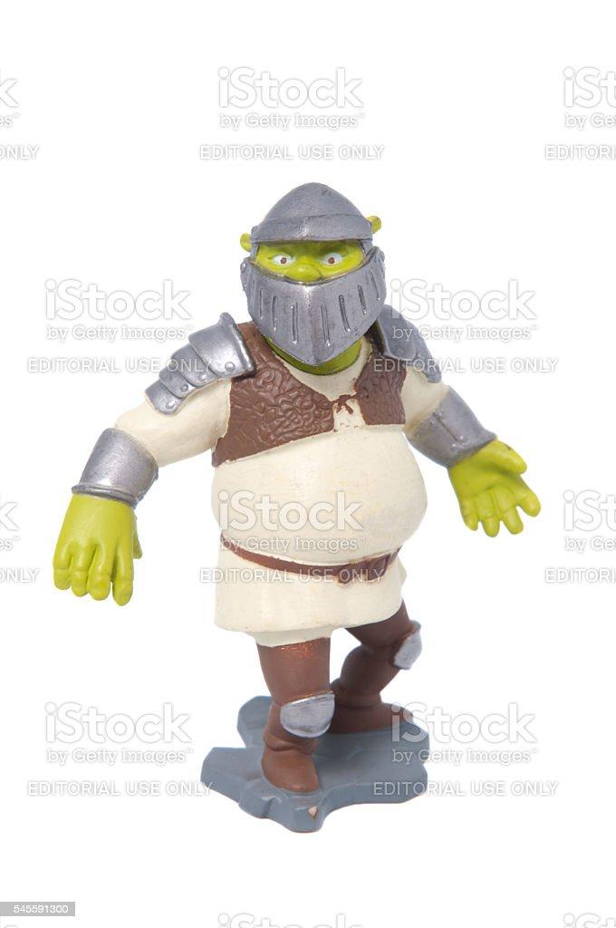 Shrek Action Figure stock photo