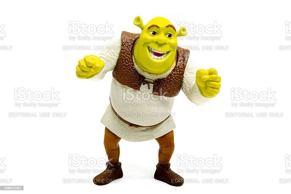 Shrek stock photo
