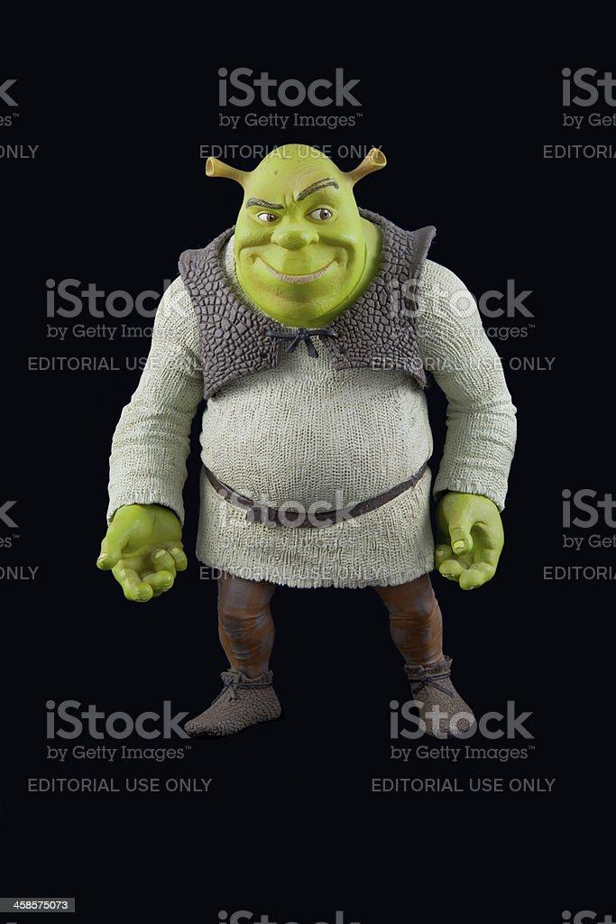Shrek Toy stock photo