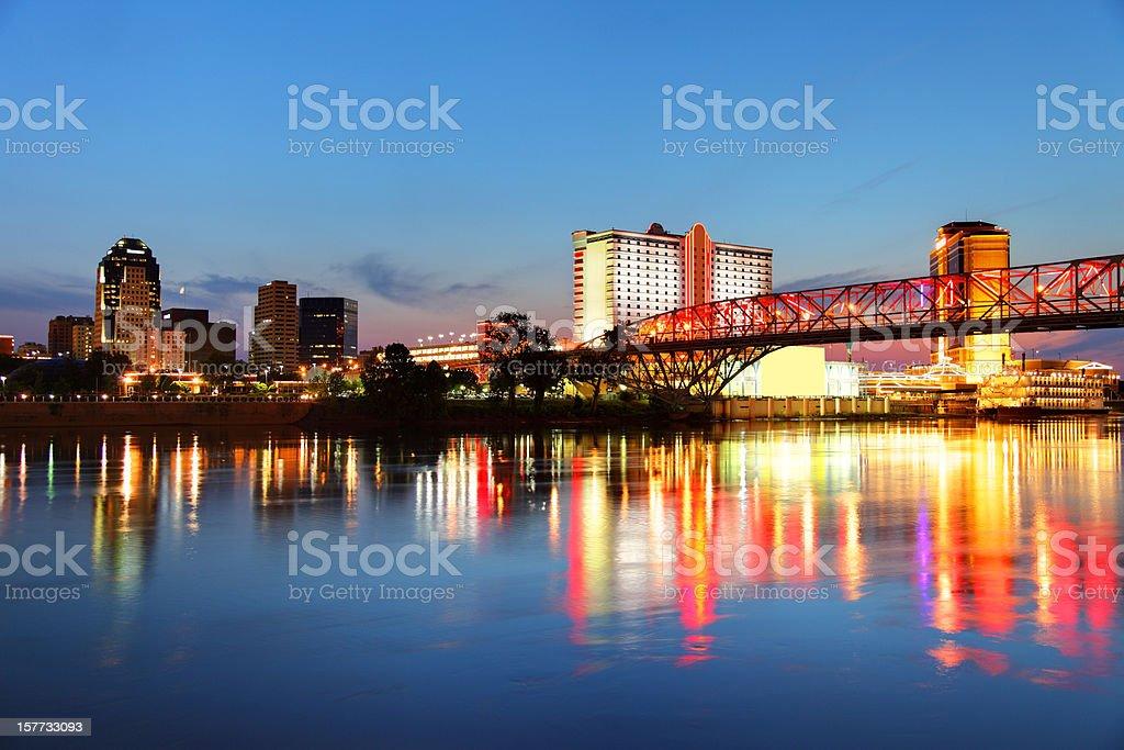 Shreveport Louisiana royalty-free stock photo
