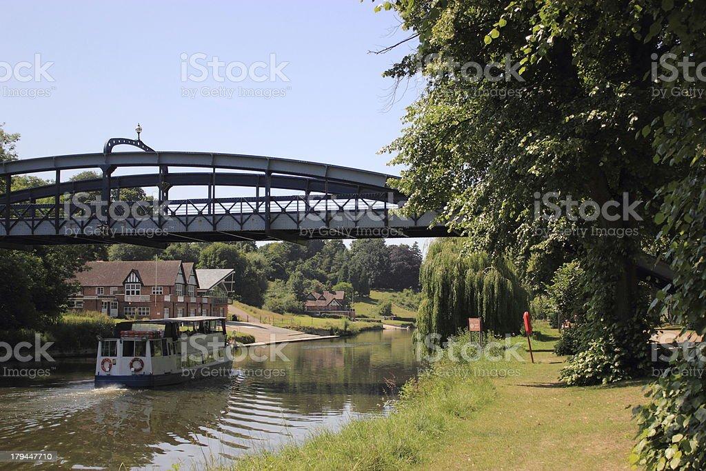 shrewsbury river boat cruise royalty-free stock photo