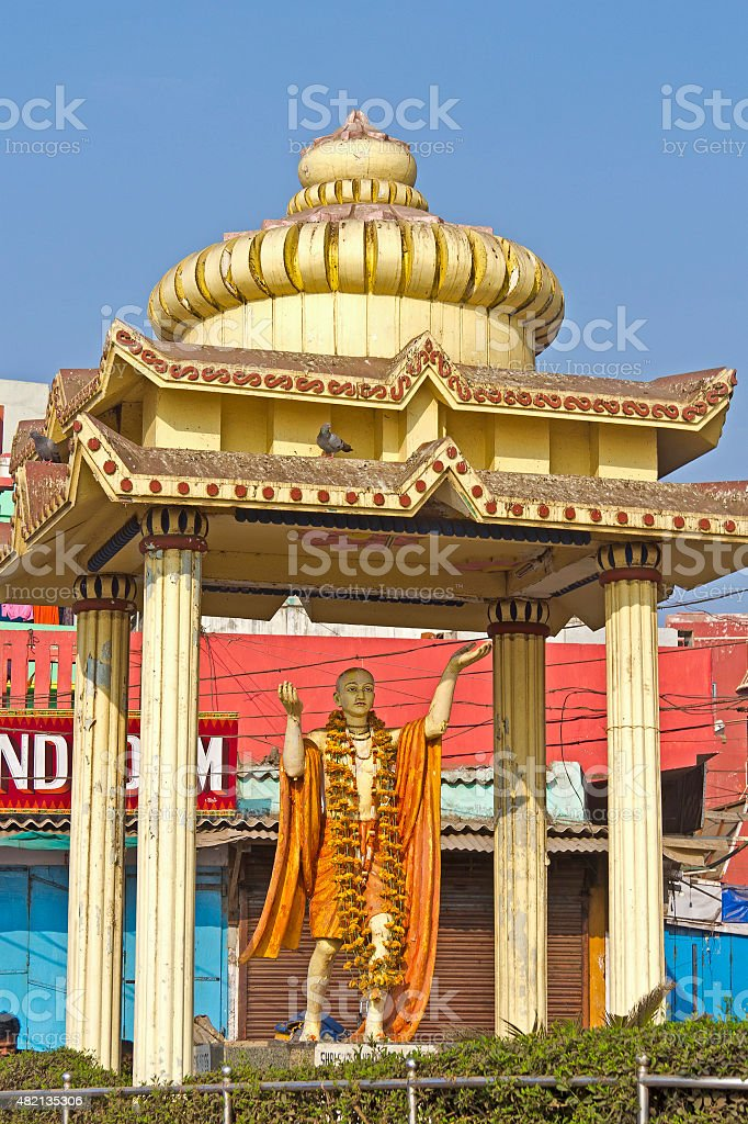 Shri Chaitanya Mahaprabhu stock photo