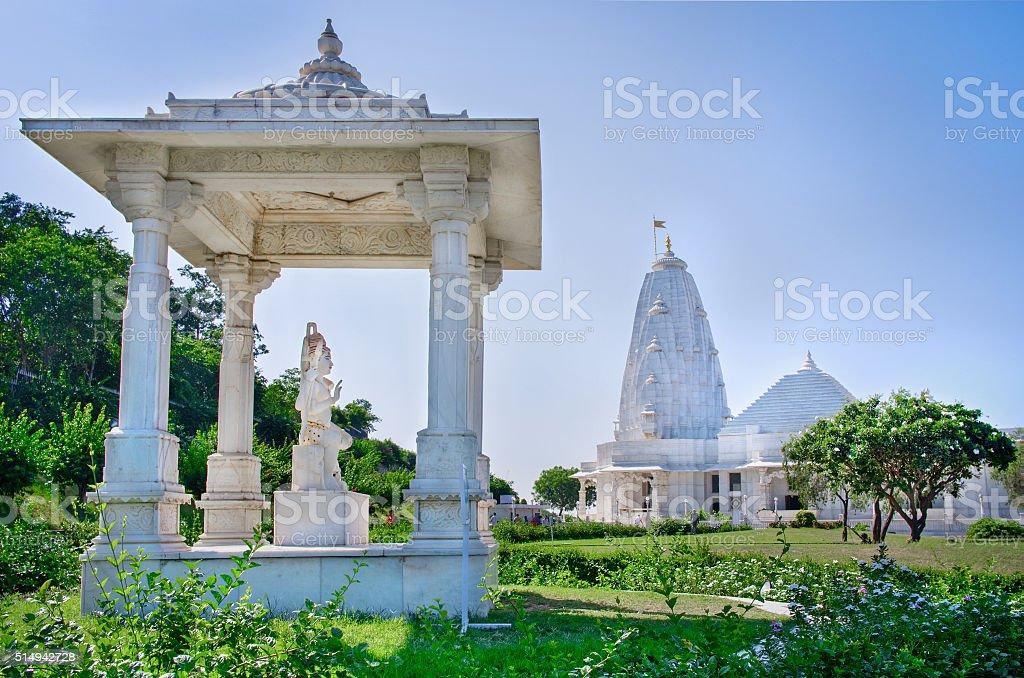 Shri Lakshmi Narayan Temple (Birla Mandir), Jaipur, India stock photo
