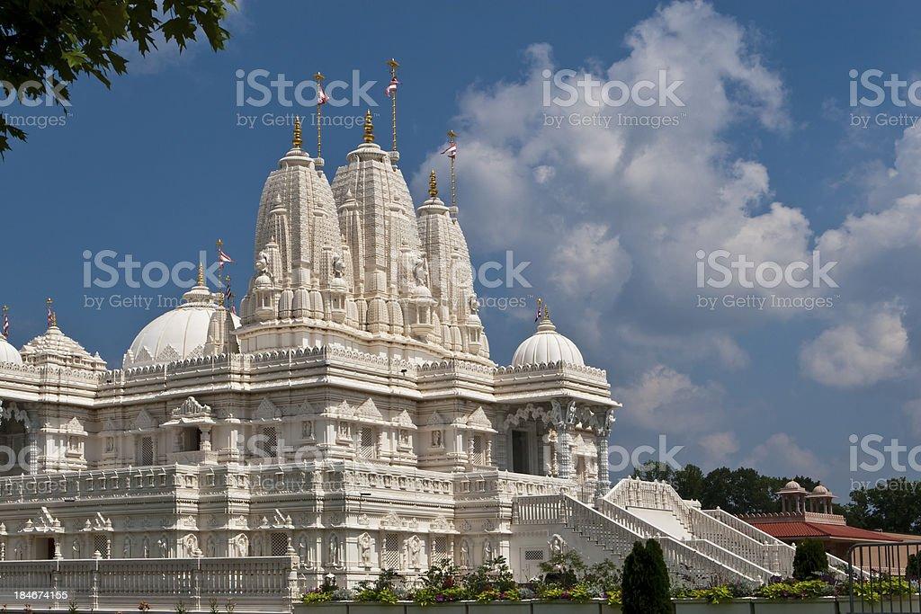 BAPS Shri Swaminarayan Mandir. Atlanta stock photo