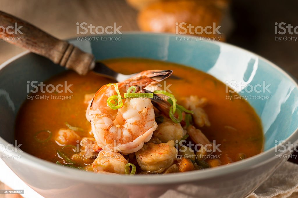Shrimp Bisque stock photo