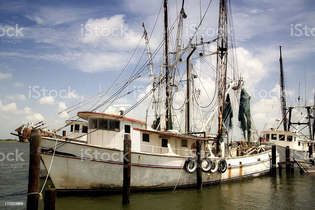 Shrimp Boat stock photo